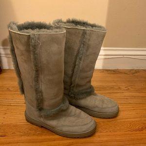Ugg Sundance II Grey Size 6 Tall Boots